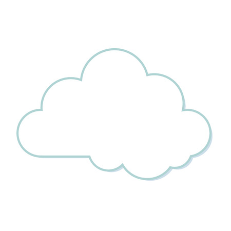day forecast: cloud sky weather nature forecast meteorolgy clear day vector illustration