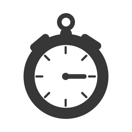 chronometer: time chronometer device precision counter sport vector illustration