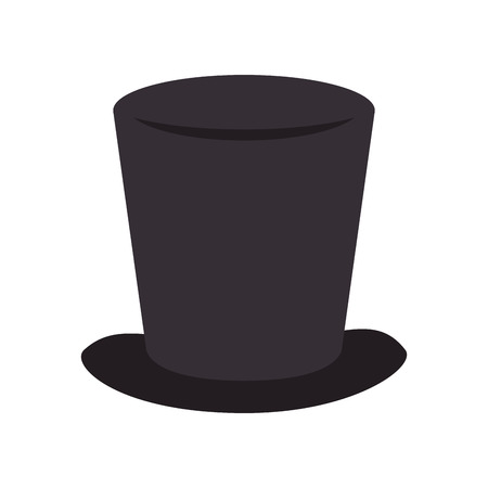 tophat: tophat hat magic elegance clothing classic vector illustration Illustration