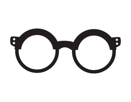 eyewear fashion: glasses fashion eyewear hipster style accessory vector illustration Illustration