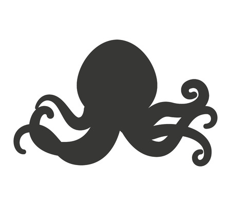 tentacles: octopus tentacles isolated icon vector illustration design