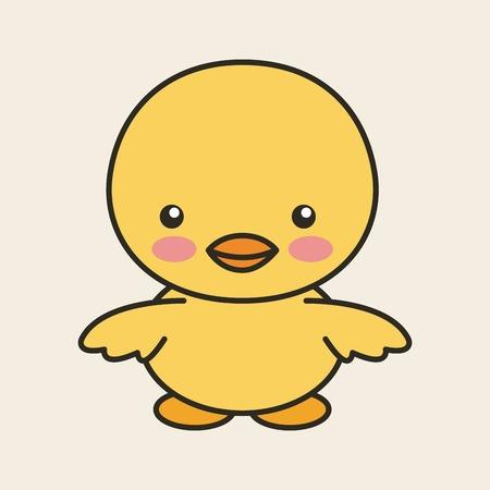 tender: cute chicken tender isolated icon vector illustration design