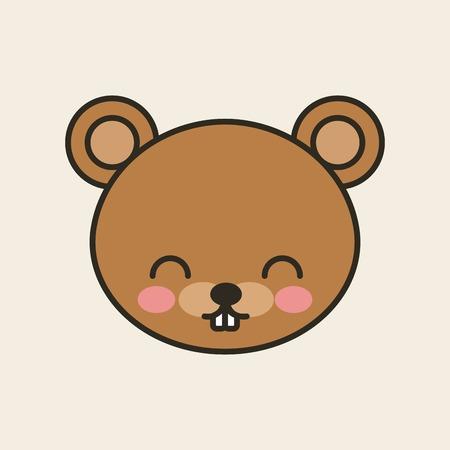 tender: cute bear tender isolated icon vector illustration design