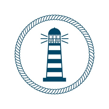 maritime: frame maritime nautical isolated vector illustration design