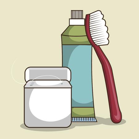 objec: dental healthcare equipment icon vector illustration graphic Illustration