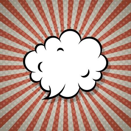 lichtenstein: comic pop art expression vector illustration design Illustration