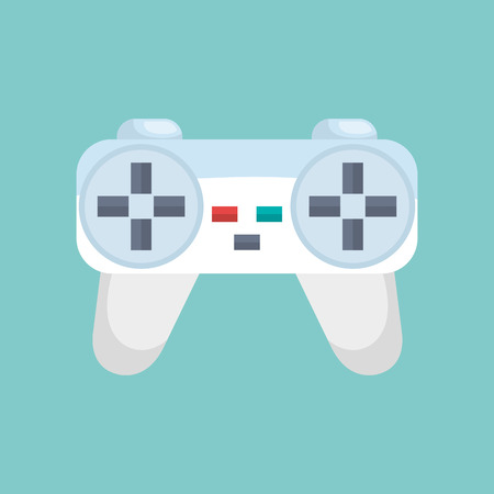 joy pad: video game control isolated icon vector illustration design