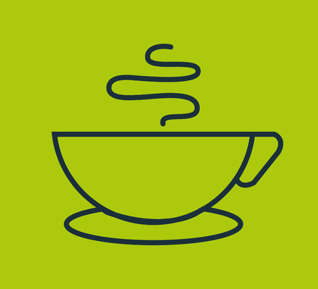 drink tools: coffee cup isolated icon vector illustration design Illustration