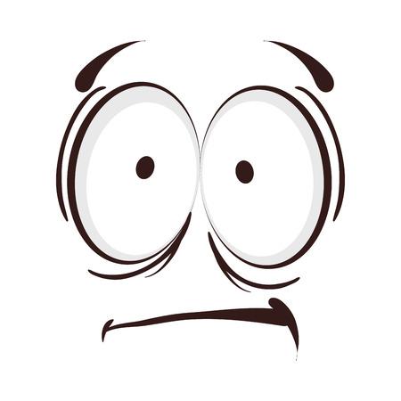 gezicht cartoon emotie expressief karakter emoticon vector illustratie