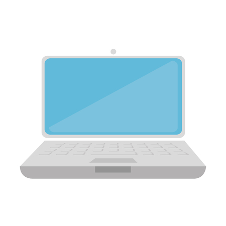 electronic device: laptop computer electronic notebook technology electronic device vector illustration