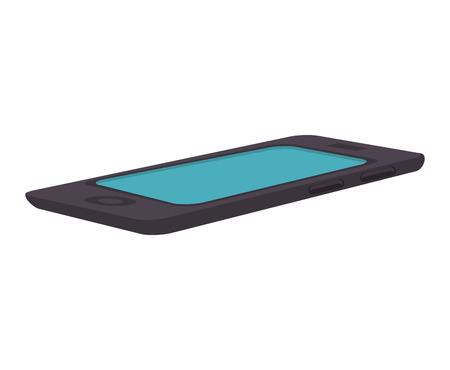 smartphone phone communication portable digital technology device vector illustration
