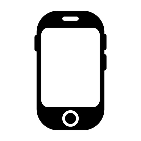 cellular: smartphone phone mobile cellular technology and communication device vector illustration