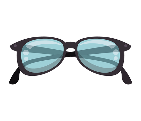 eyewear: glasses eyewear accessory optical protection vision vector illustration