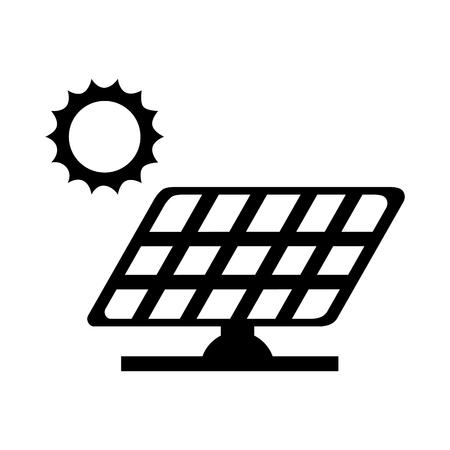 sun energy: panel solar sun energy