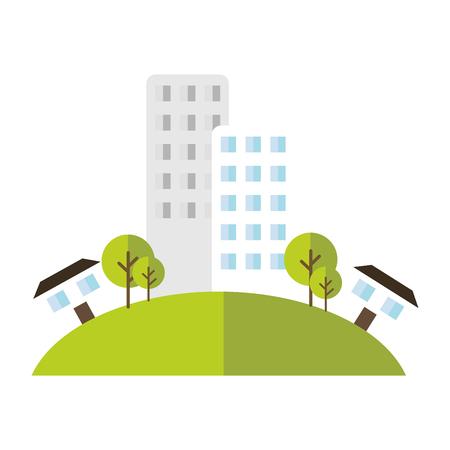 entertaining area: building house home green area