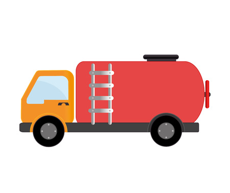flammable: truck transport oil petroleum