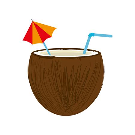 coconut drink: coconut  drink