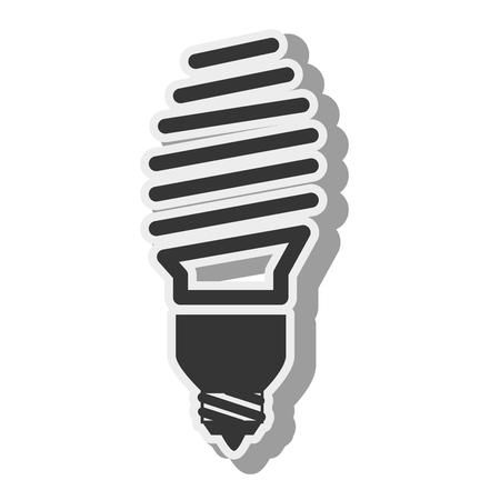 bombillo ahorrador: bulbo Vectores