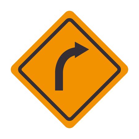 turn on: signal traffic turn right