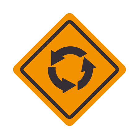 roundabout: roundabout signal traffic road