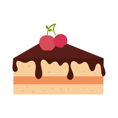 slice of cake: slice cake dessert