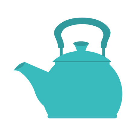 kitchen utensil: icon teapot hot kitchen utensil