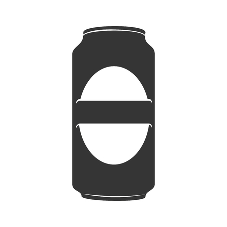 beer can: icon beer can drink liquid Illustration