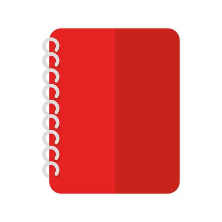 school: notebook school Illustration