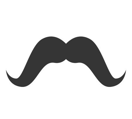 burly: moustache