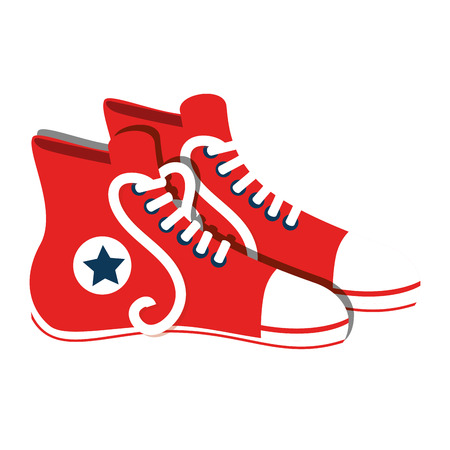 editorial: shoes Illustration
