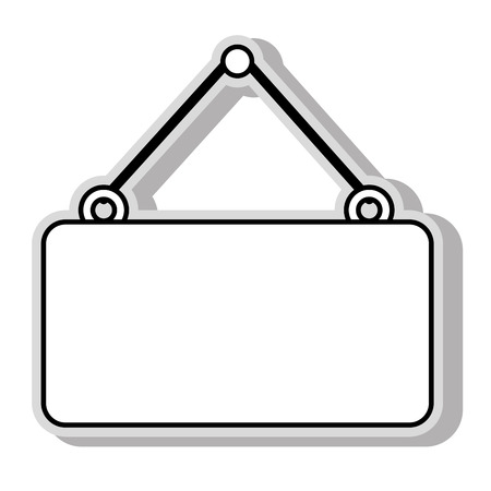 hanging sign: hanging sign blank