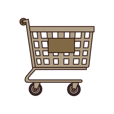 silhoette: cart