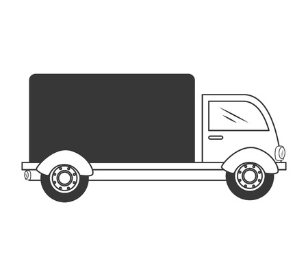 delivery truck: truck delivery shipping