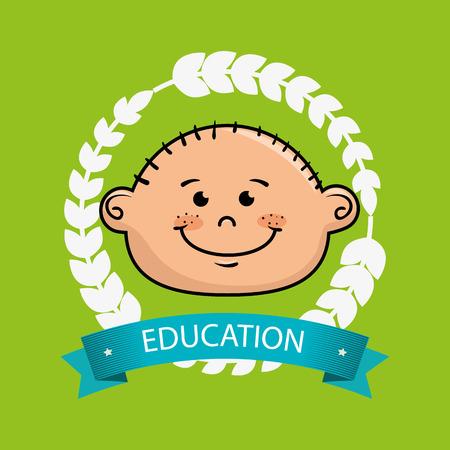boy student graduation icon vector illustration eps10 Illustration