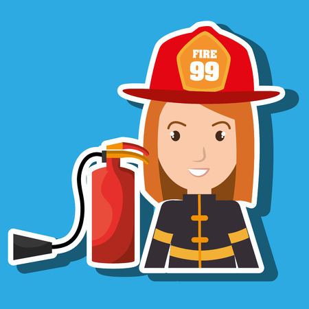 suppression: firefighter