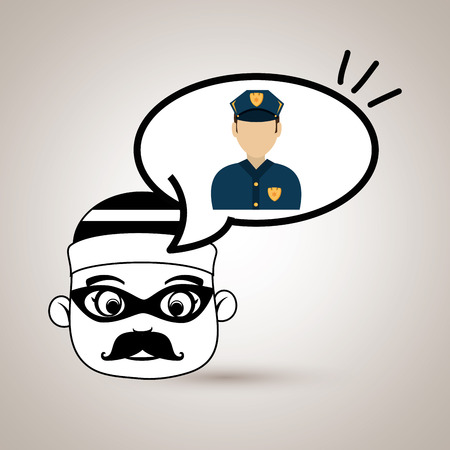 criminal: man criminal law icon