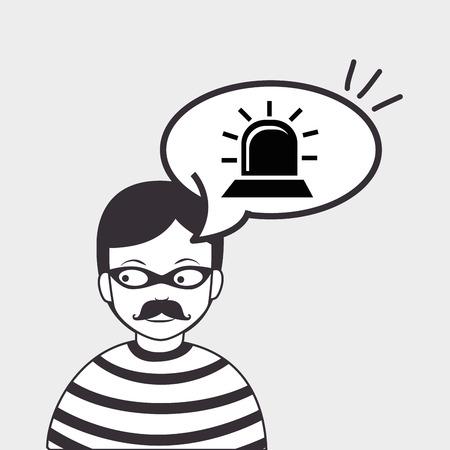 control fraud: hacker information app icon vector illustration eps 10