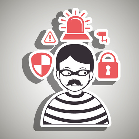 hacker security protection hacker vector illustration eps 10