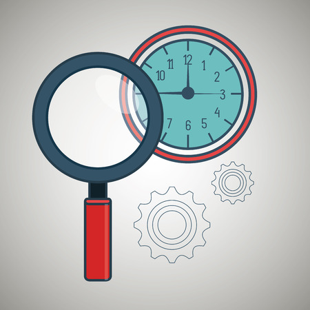 geography: search compass geography icon vector illustration eps 10
