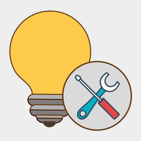 idea tools icon vector illustration eps 10