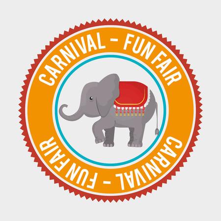 big top: big top circus icon vector illustration