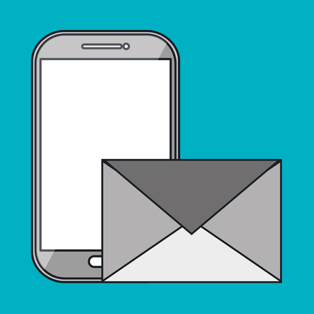 smartphone apps: smartphone apps icon vector illustration
