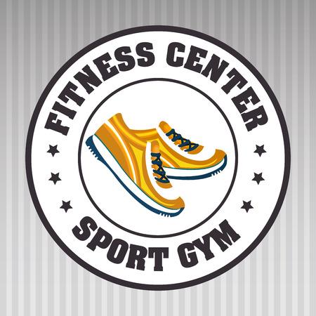 footwear: footwear sport gym vector illustration graphic eps 10