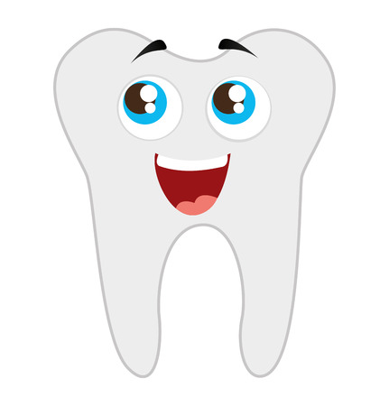 tooth dental healthcare isolated icon vector illustration design Illustration