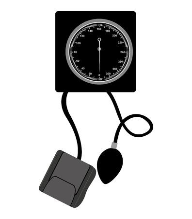 preasure: preasure device measure equipment icon vector illustration design