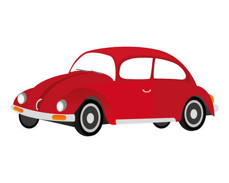 editorial design: car vehicle beetle isolated icon vector illustration design Illustration