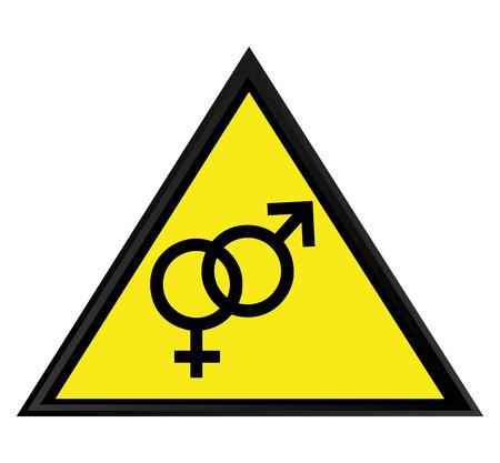 male and female symbol isolated icon vector illustration design Illustration