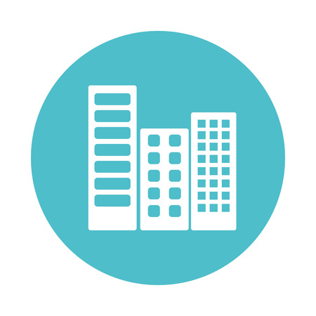 bulding: city buildings isolated icon vector illustration design