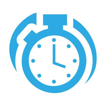 chronometer: timer counter chronometer isolated vector illustration design