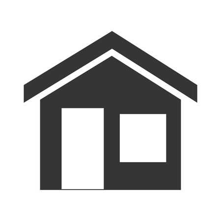 residential home: house home real estate residential property building vector illustration Illustration